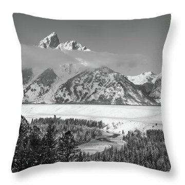 High Band Throw Pillow