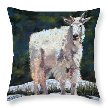 High Country Friend Throw Pillow