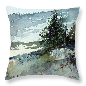 High Country Throw Pillow by Monte Toon