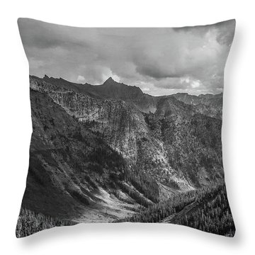 High Country Valley Throw Pillow