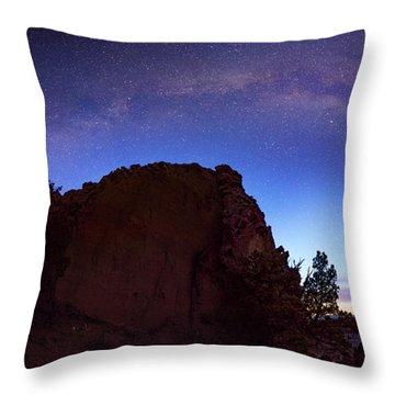 High Desert Dawn Throw Pillow by Leland D Howard