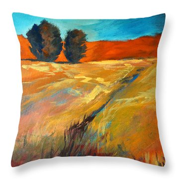 High Desert Throw Pillow