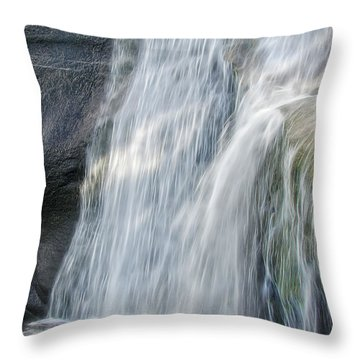 Throw Pillow featuring the photograph High Falls Three by Steven Richardson