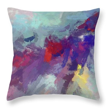 High Flying Kite Throw Pillow