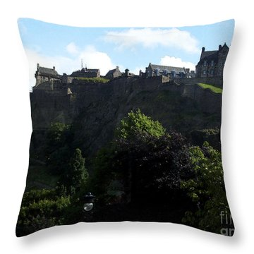 Throw Pillow featuring the photograph High by Janelle Dey