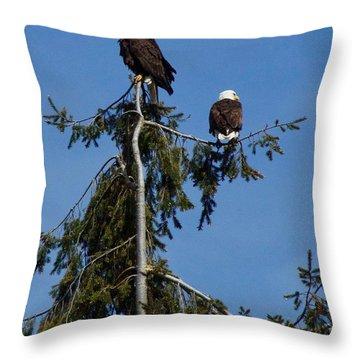 High Perch Throw Pillow