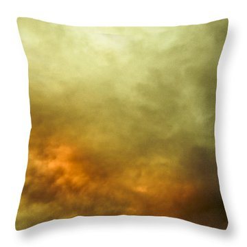 Throw Pillow featuring the photograph High Pressure Skyline by Jorgo Photography - Wall Art Gallery