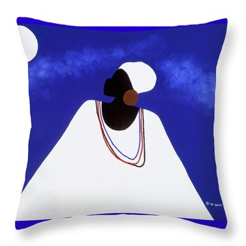 High Priestess I Throw Pillow