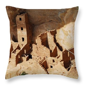 High Rise Livin Throw Pillow