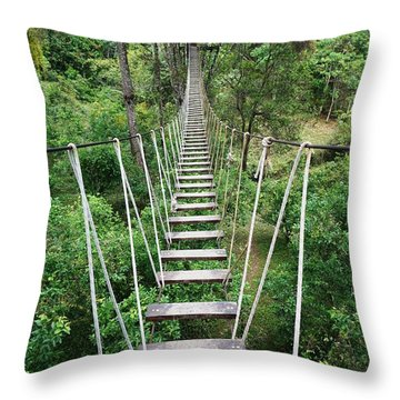 High Road Throw Pillow