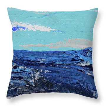 High Sea Throw Pillow