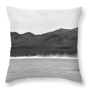 High-speed Commute Throw Pillow