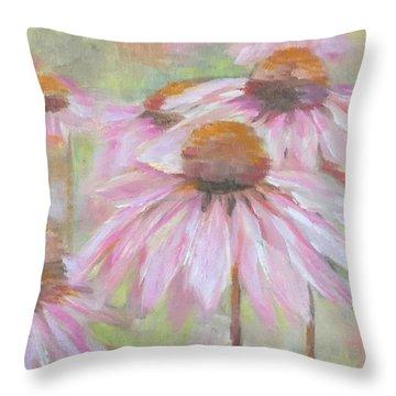 High Summer Throw Pillow