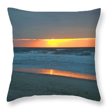 High Sunrise Throw Pillow