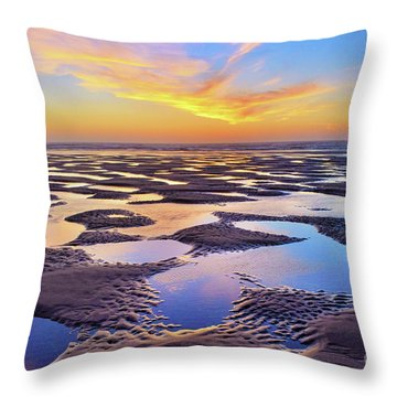 High Tide Impressions Throw Pillow
