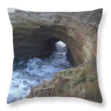 High Tide Throw Pillow