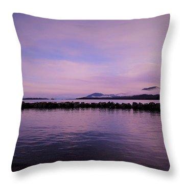 High Tide Throw Pillow by Karen Horn