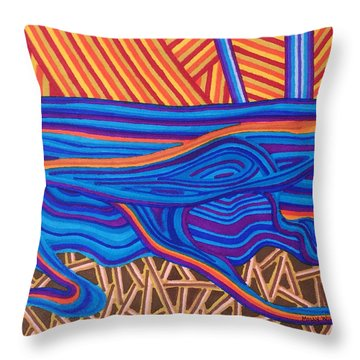 High Tide Throw Pillow