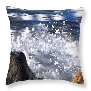 High Tide.  Throw Pillow
