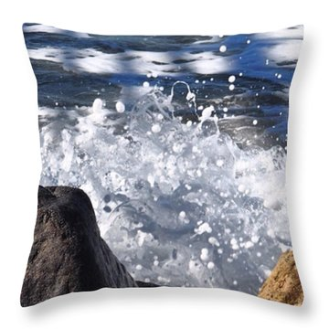 High Tide.  Throw Pillow