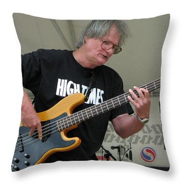 High Times Throw Pillow