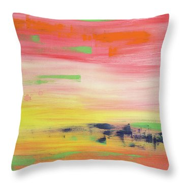 High Vibration 1 Throw Pillow