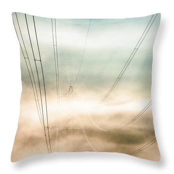High Voltage Dream Throw Pillow