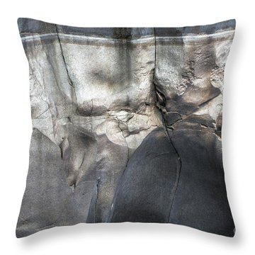 High Water Mark Rock Art By Kaylyn Franks Throw Pillow