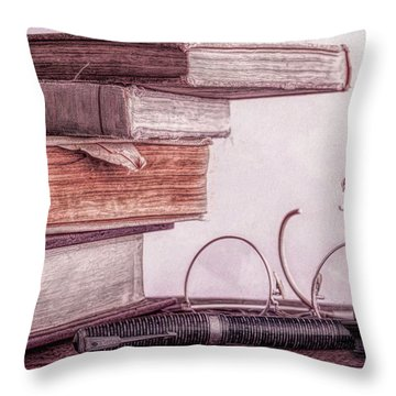 Higher Learning Throw Pillow