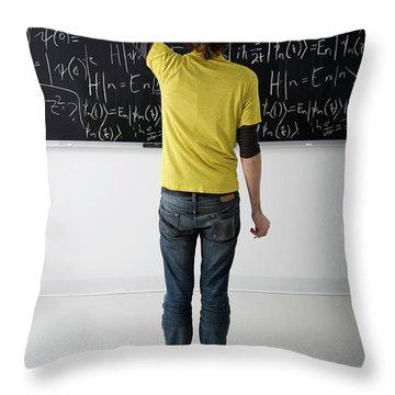 Higher Math Throw Pillow