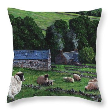 Highland Croft Throw Pillow
