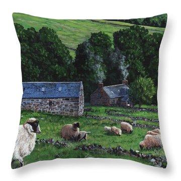 Highland Croft Throw Pillow