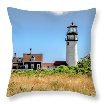 Highland Light - Cape Cod Throw Pillow