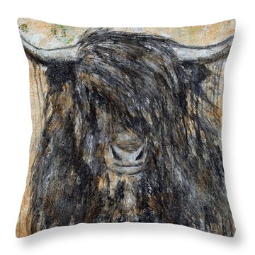 Highlander Throw Pillow