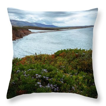 Highlands Of Cape Breton Throw Pillow