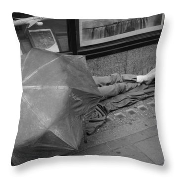 Highs And Lows Throw Pillow