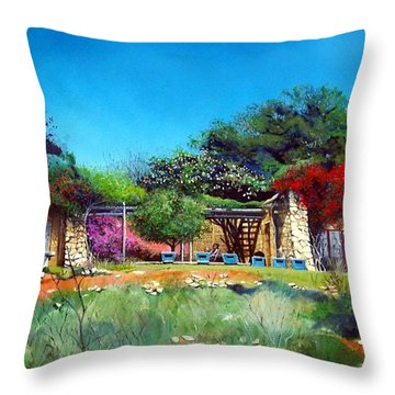 Highveld House Throw Pillow