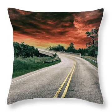 Highway Classic 2 Throw Pillow
