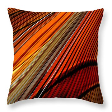 Highway To Sun Throw Pillow