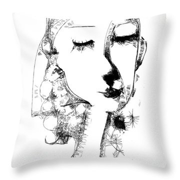 Hilda Throw Pillow by Elaine Lanoue