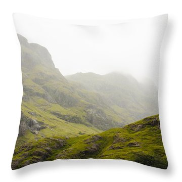 Throw Pillow featuring the photograph Hill And Glen by Christi Kraft