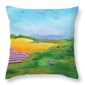 Hill Country Beauty Throw Pillow
