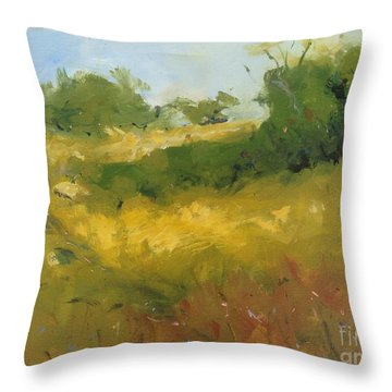 Hill In Richmond Throw Pillow