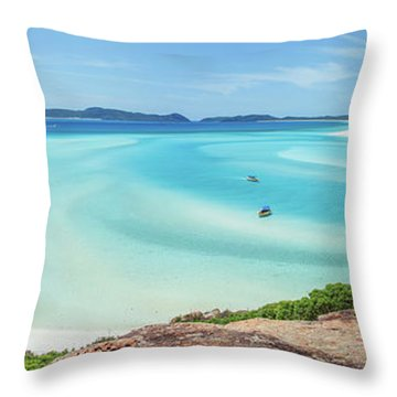 Hill Inlet Lookout Throw Pillow