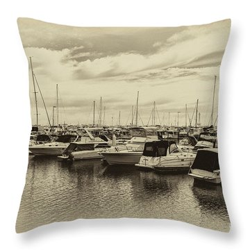 Hillarys Boat Harbour, Western Australia Throw Pillow