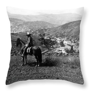 Hills Of Guanajuato - Mexico - C 1911 Throw Pillow by International  Images