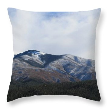 Hills Of Taos Throw Pillow