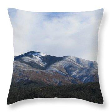 Hills Of Taos Throw Pillow