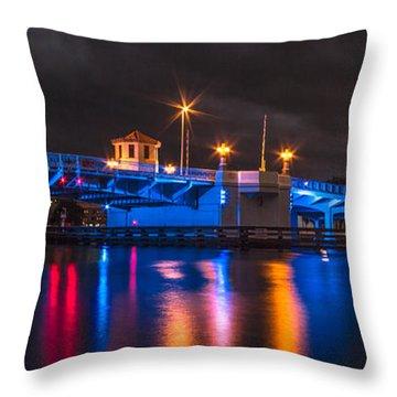 Hillsborough River Throw Pillow