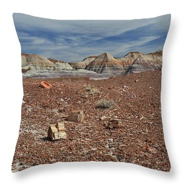 Hillside Hues Throw Pillow by Gary Kaylor